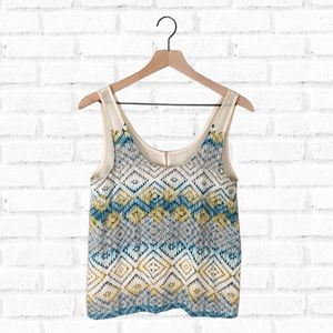 Kirra Geometric Shape Tank Top